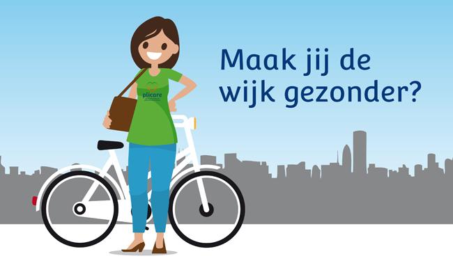 Maak jij de wijk gezonder? Lees de vacatures voor wijkverpleegkundige bij Plicare.